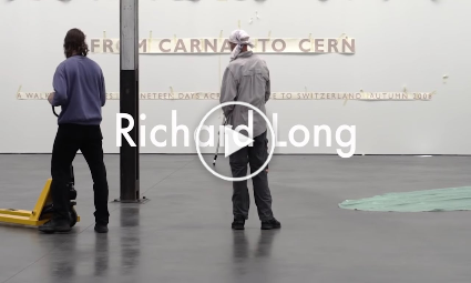 Richard Long in De Pont (2019)