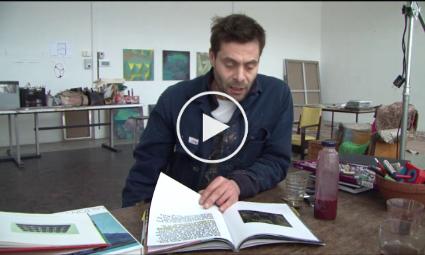 Op atelier bij Robert Zandvliet (2012)