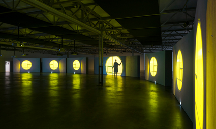 Isaac Julien – tentoonstellingsfoto's (2015)
